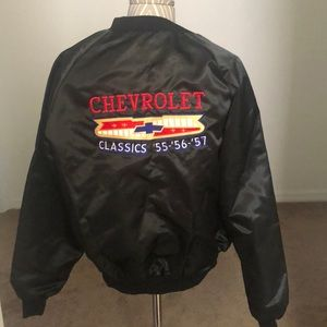 Vintage Chevrolet jacket size L for women